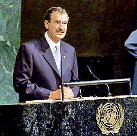 Presidente Vicente Fox</br>© Diario REFORMA
