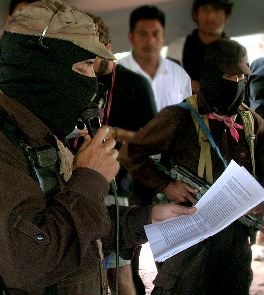 Subcomandante Marcos © SIPAZ