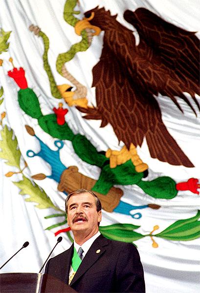 Presidente Vicente Fox © Presidencia de México