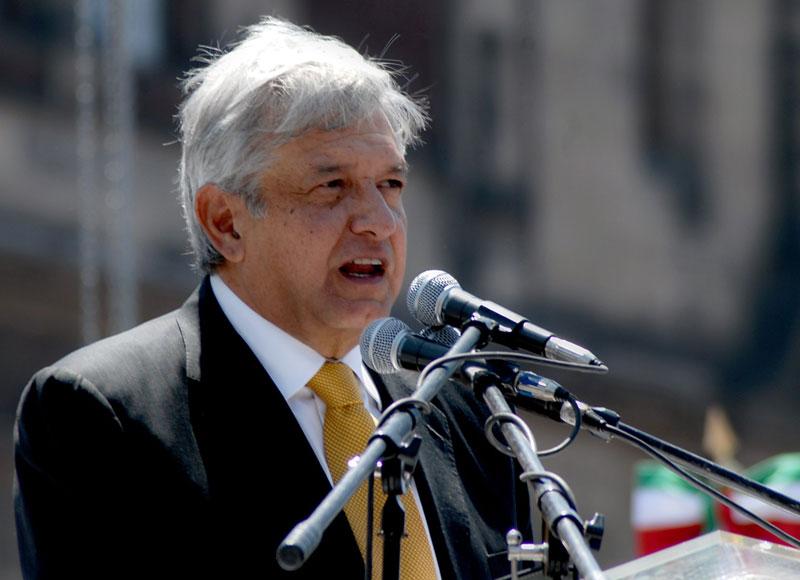 Andrés Manuel López Obrador © MILENIO