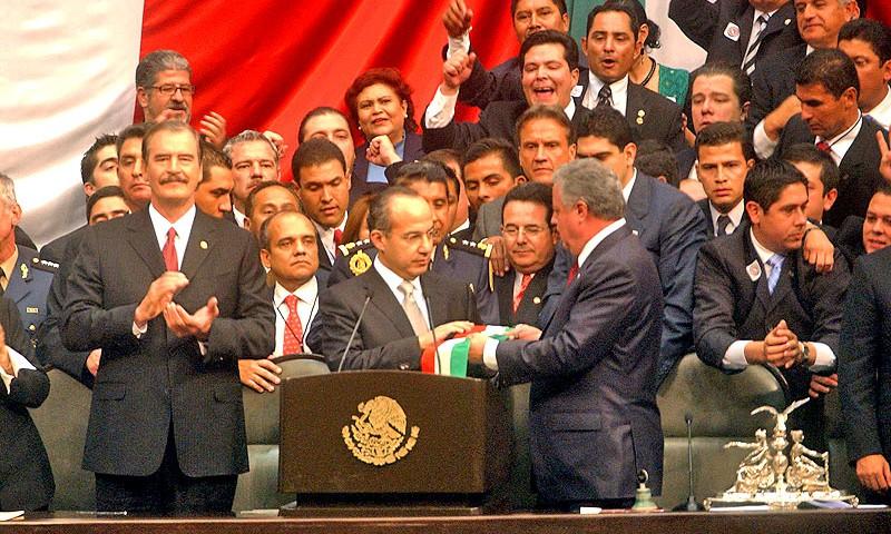 Toma de posesión de Felipe Calderón © México, Presidencia de la República