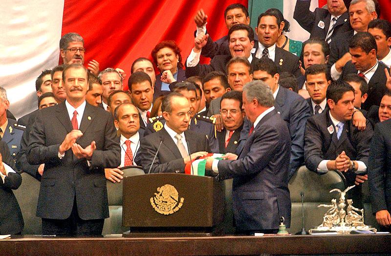 Einweihung von Felipe Calderón © Mexiko, Präsidentschaft der Republik