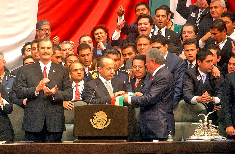 Inauguration of Felipe Calderón © Mexico, Presidency of the Republic
