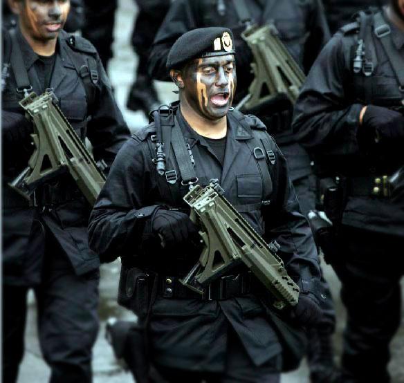 Soldado mexicano en un desfile © portierramaryaire.com