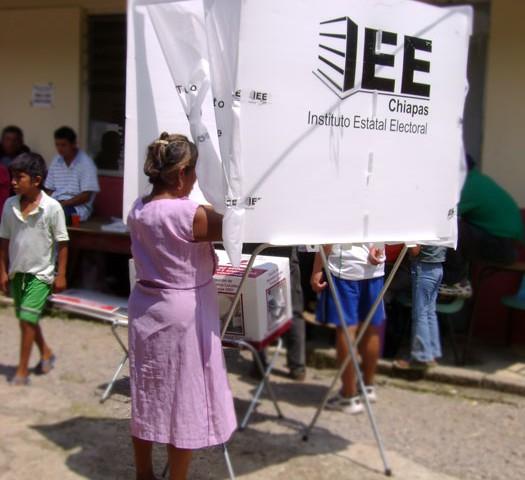 Elecciones en la Zona Norte de Chiapas © SIPAZ
