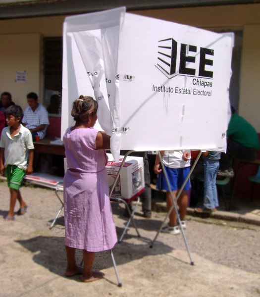 Elections in the Northern Zone of Chiapas © SIPAZ