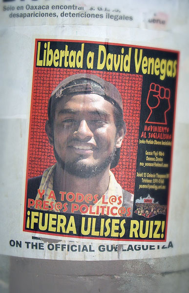 Political Prisoners. David Venegas © SIPAZ