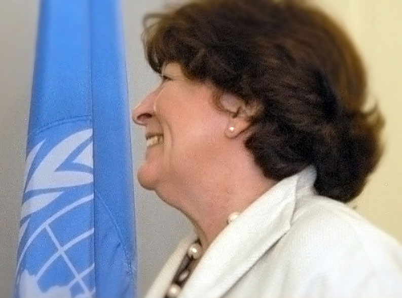 Louise Arbour, United Nations High Commissioner for Human Rights