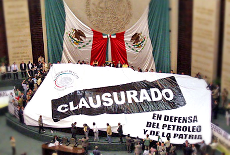 FAP deputes take over the Mexican Congress