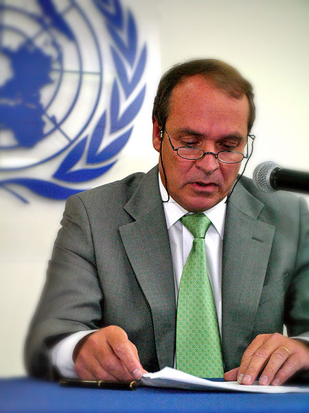 Amerigo Incalcaterra, Representative of the UN High Commissioner for Human Rights (OHCHR) in Mexico