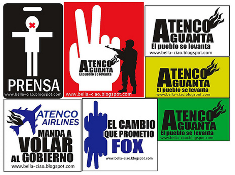 Atenco stickers