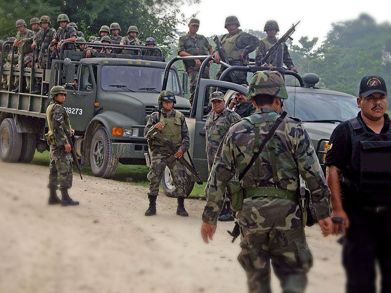 Military operation in the community of San Jerónimo Tulijá, May 19 and 20, 2008