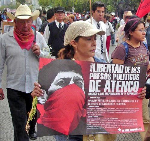 The struggle continues for justice in the case of Atenco © Blog Zapateando