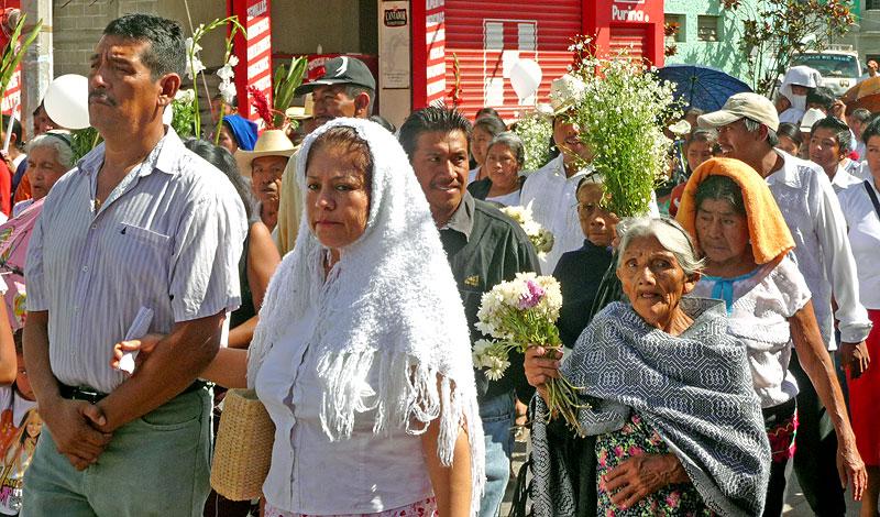 Peregrinación en Venustiano Carranza, diciembre de 2009 © SIPAZ