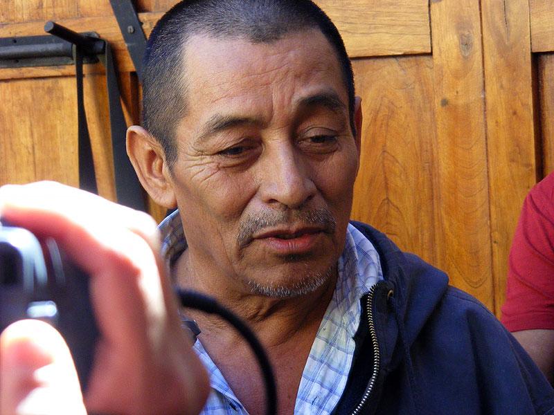 José Manuel (Chema) Hernández Martínez, líder histórico de la OCEZ-RC © SIPAZ