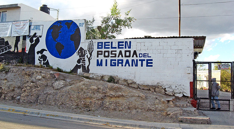 Bethlehem House for Migrants in Saltillo © SIPAZ