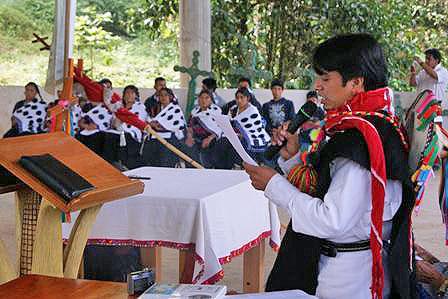 Commemoration of Acteal Massacre, October 2010 © SIPAZ