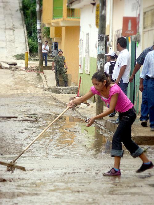 Floods in Yajalón © SIPAZ