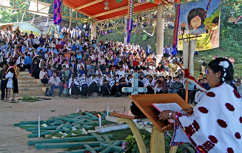 13th anniversary of the Acteal Massacre, Chenalhó, December 2010 © Friar Bartolomé de las Casas Human Rights Center