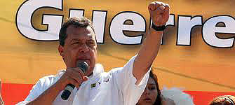 The new governor of Guerrero, Ángel Aguirre Rivero, began his term on 1 April of this year© Pulso Jurido