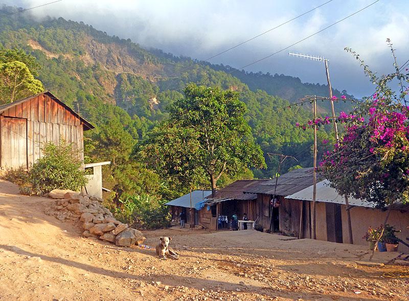 Scenery in the zone of La Montaña, Guerrero © SIPAZ, octubre 2010
