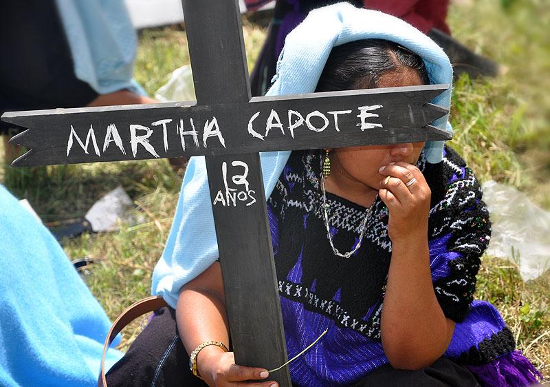 Jornadas de Acción x la Justicia y la Verdad: Acteal 12 de agosto 2011 © SIPAZ