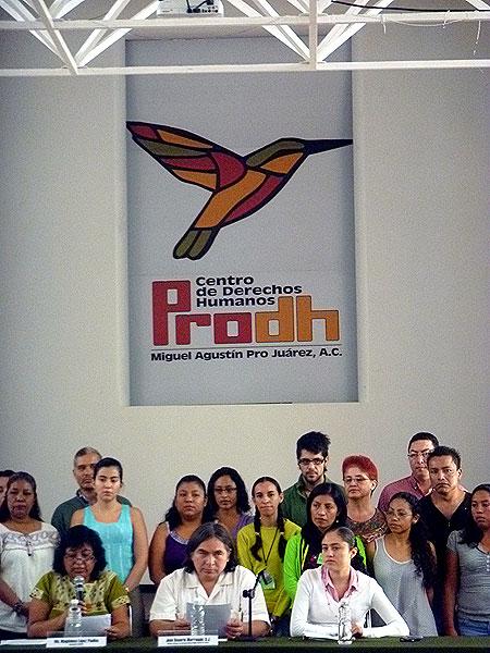 Cuarto Encuentro Nacional de defensor@s de Derechos Humanos © SIPAZ, Agosto 2011