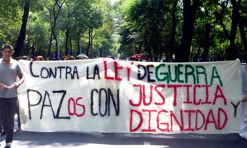 Caravana Ciudadana por la Paz con Justicia y Dignidad © SIPAZ, Agosto 2011