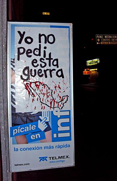 """""""I did not ask for this war"""" © La Otra División del Norte"""