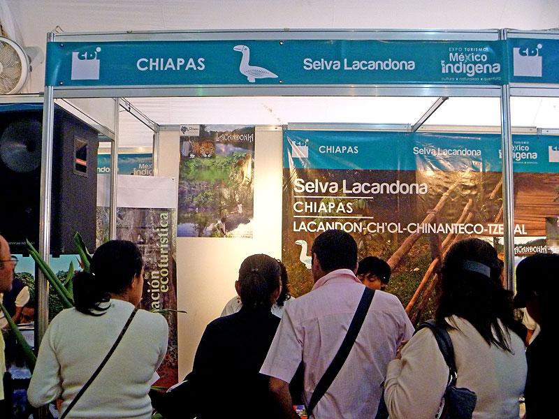 XIII Cumbre Internacional del Turismo de Aventura, San Cristóbal de Las Casas, octubre de 2011 © SIPAZ