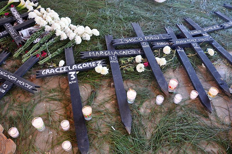 XIV Aniversario de la masacre de Acteal, 22 de diciembre de 2011 © SIPAZ