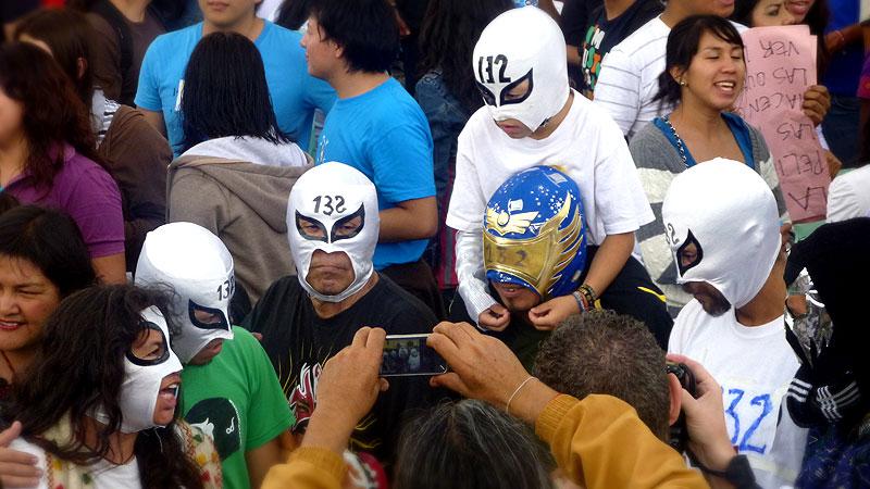 Manifestación de #YoSoy132 en San Cristóbal de Las Casas © SIPAZ