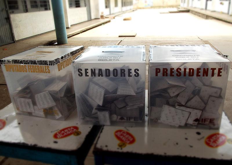 Wahlen am 1. Juli in San Cristóbal de Las Casas © SIPAZ