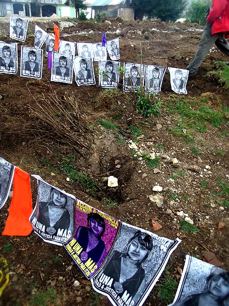 Mobilization against the murder of Itzel © SIPAZ