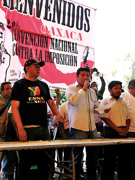 Second National Convention against Imposition, Oaxaca © kontrakorriente85.blogspot.com