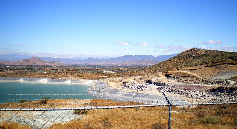 Empresa minera en San José del Progreso © SIPAZ