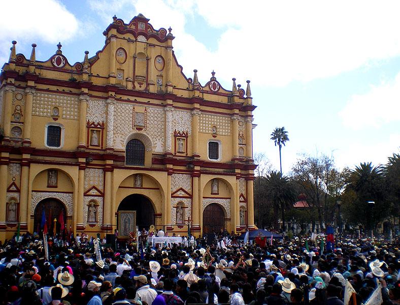 Peregrinación del Pueblo Creyente, San Cristóbal de Las Casas, enero de 2013 © SIPAZ