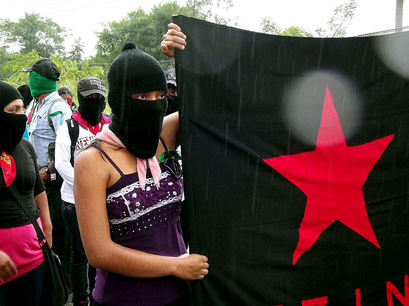 March of the Zapatista Army of National Liberation, Palenque, 21 December 2012 © SIPAZ