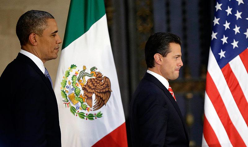 Die Präsidenten Obama und Peña Nieto © expresocampeche.com