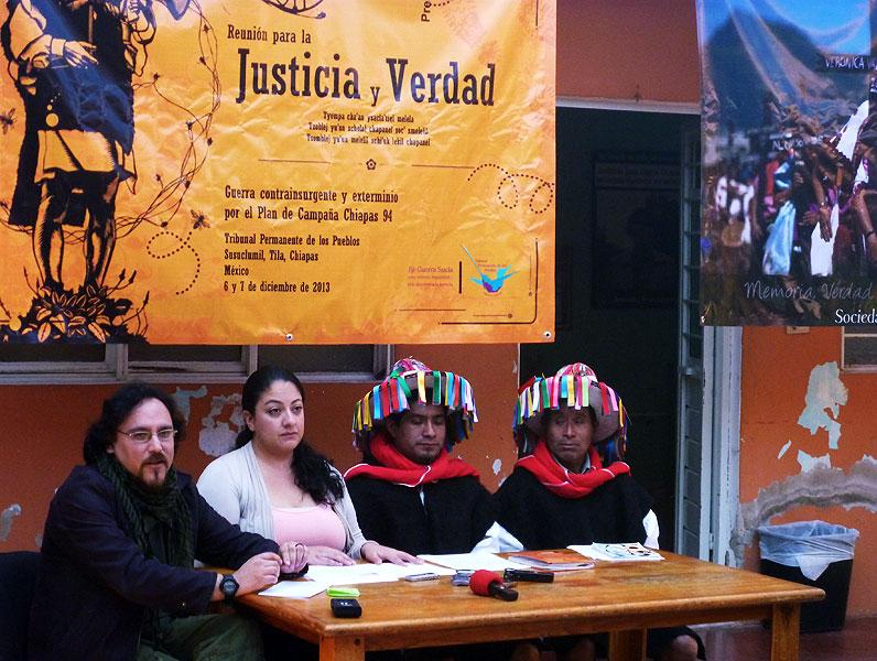 Conferencia de prensa para compartir el dictamen del TPP en Susuclumil © SIPAZ 1306_ZN3: Paísaje de la zona Norte © SIPAZ