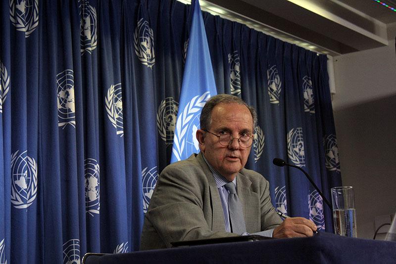 Juan E. Mendez, UN Special Rapporteur on Torture © sdp.noticias