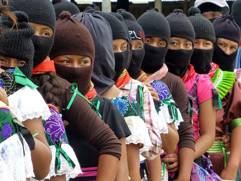 "Homage to José Luis Solis López, ""Galeano,"" Zapatista support-base murdered in La Realidad in May © SIPAZ"