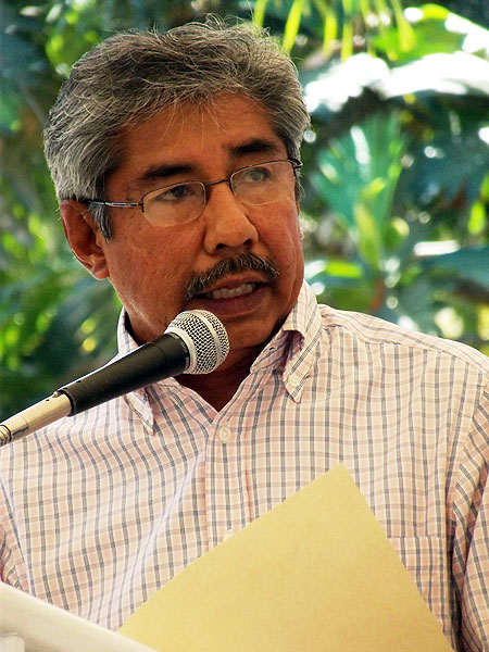 Abel Barrera, director of the Tlachinollan Mountain Human Rights Center © SIPAZ, archive photo