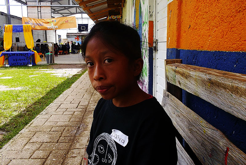 Daira, worker, 13 years old © SIPAZ
