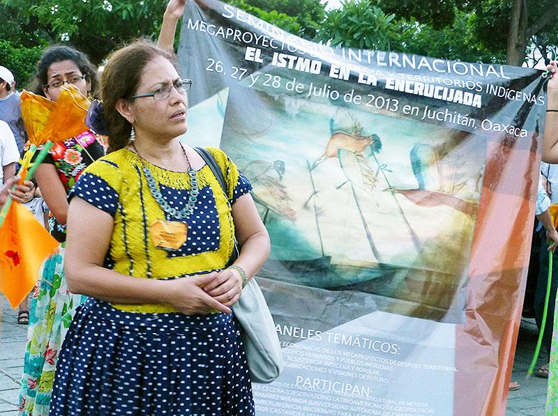 Bettina Cruz Velázquez © SIPAZ, archivo
