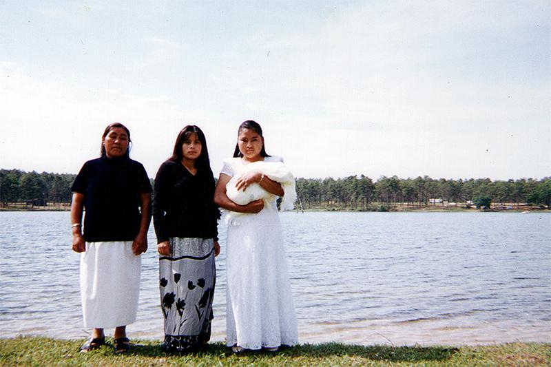 En el lago © Voces mesoamericanas