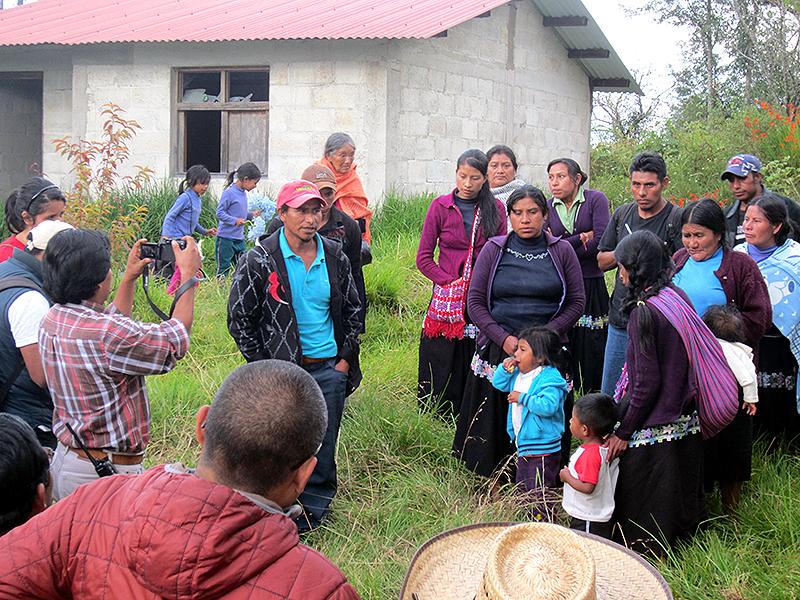 Retorno de las familias desplazadas de Banavil © SIPAZ