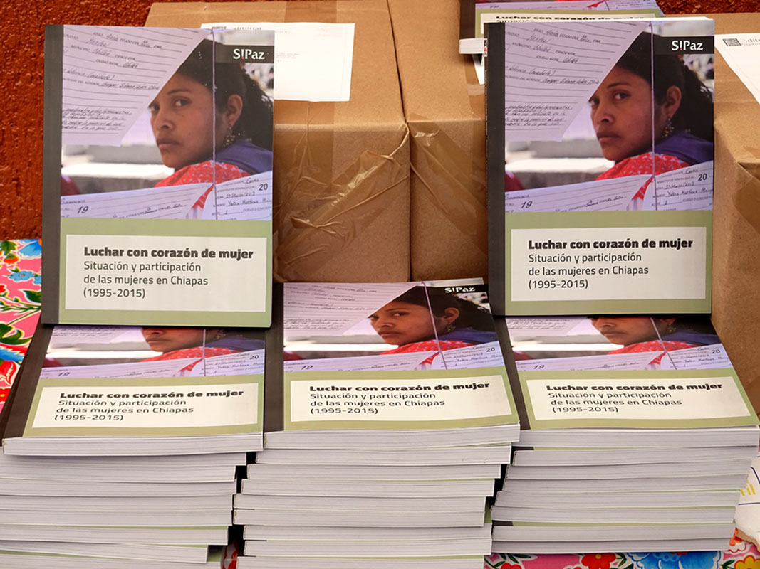 """""""Fighting With the Heart of a Woman"""", book published by SIPAZ for their 20th Anniversary © SIPAZ"""
