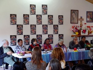 Analysis panel of the context, 20th Anniversary of SIPAZ, November of 2015 © SIPAZ