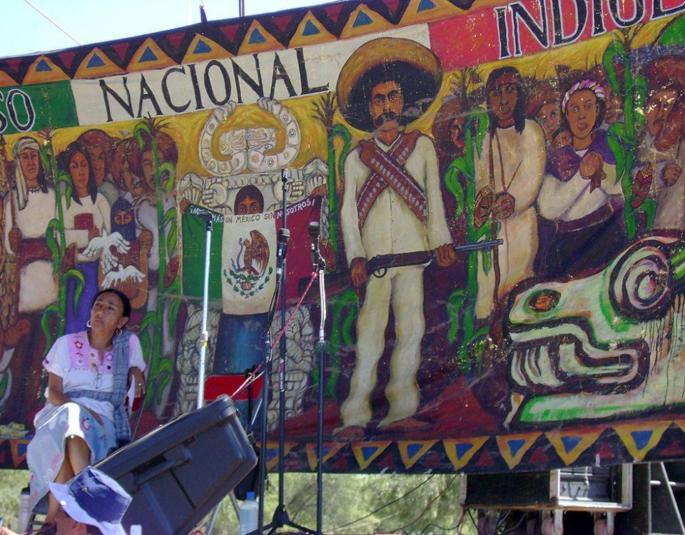 Encuentro de Pueblos Indígenas de América, comunidad de Vicam, Sonora, octubre de 2016 © SIPAZ